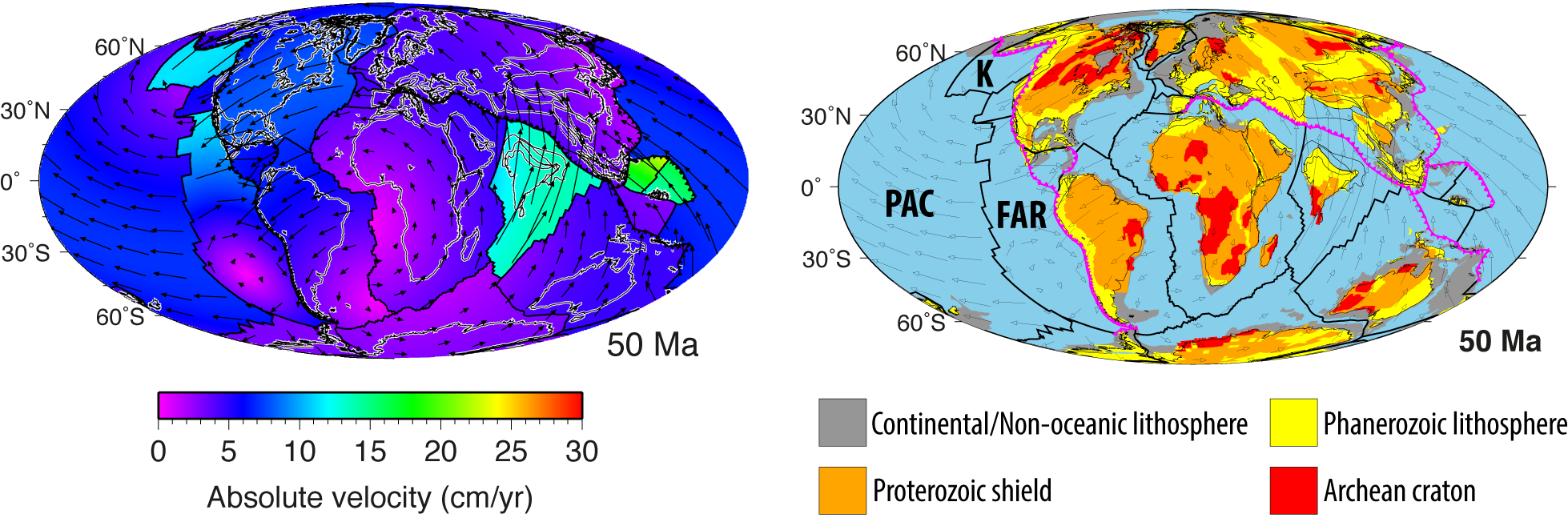 Tectonic speed limits from plate kinematic reconstructions
